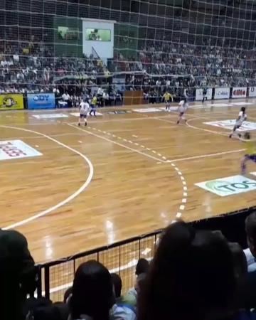 Amandinha on Instagram Gol de hoje contra o Paraguai pelas lentes de um torcedor Obrigada Pinhalzinho por todo carinho ginásio lotado pra assi