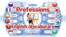 Ders Meslekler ve İşler Resimlerle İngilizce Kelime Tercümanı Kelime Kitabı
