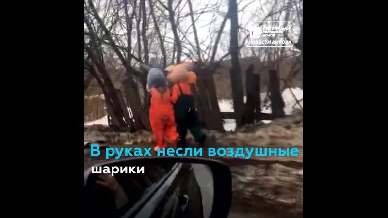 В Кирове появились Хрюша и Степашка