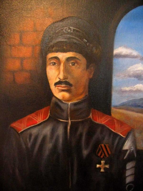 Один из самых знаменитых портретов Б.В. Анненкова изображает его в качестве узника.
