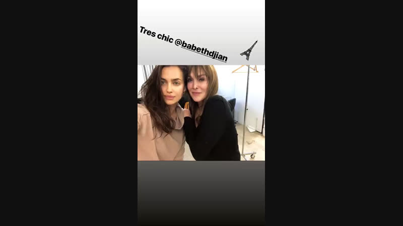 @irinashayk via Instagram Stories