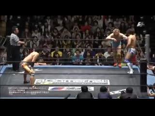 Kota Ibushi & Kenny Omega vs Tetsuya Endo & Konosuke Takeshita
