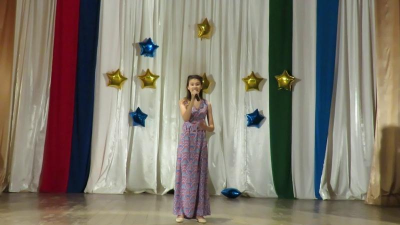 Рината Агзамова Су буйлап 13 лет Мелеуз ДДЮТ