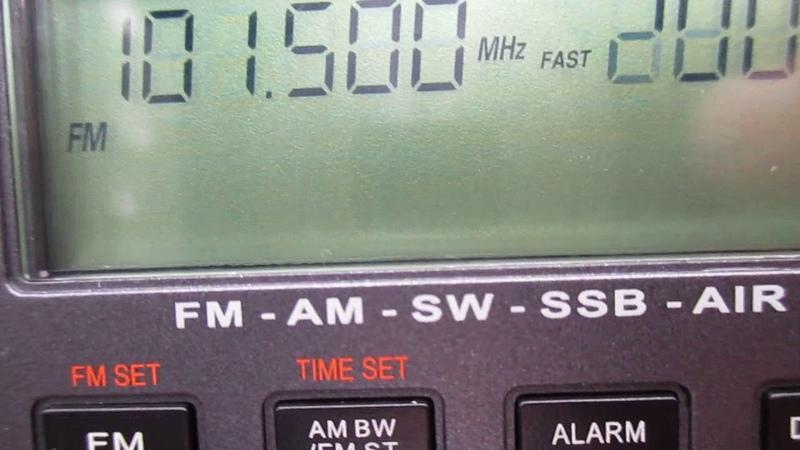 101 5 Radio City Joensuu Kontiolahti Pyytivaara pk ~191km