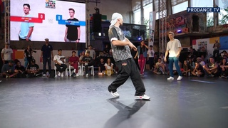 Bumblebee vs Victor vs Xak vs Lagaet | B-BOYS GROUP B | World Urban Games 2019