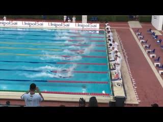 Men's 50m freestyle final (sette colli trophy 2019)