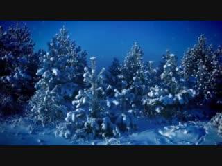 Волшебная зимняя сказка под музыку М. Таривердиева