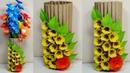 Paper Flower Vase Making | Flower Vase Out of Waste Covering Paper | Vase | Abigail Paper Crafts