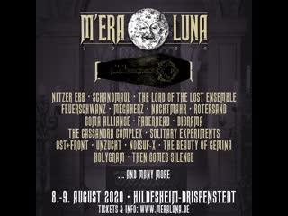 M'era luna festival 2020 | 8. - 9. august 2020