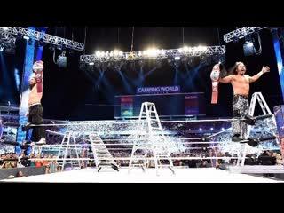 WM33 ~ The Hardy Boyz (Matt Hardy & Jeff Hardy) RETURNS !!!