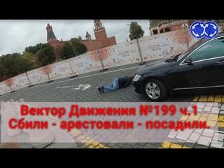 Вектор Движения №199 ч.1 ФСО Vs. Движение. Сбили-арестовали-посадили.
