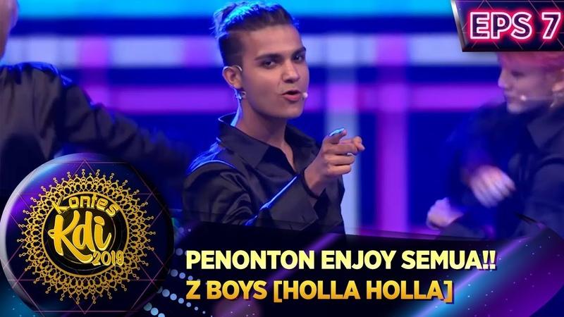PENONTON ENJOY SEMUA Z BOYS HOLLA HOLLA KONTES KDI EPS 7 2 9