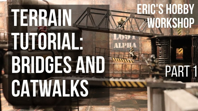 Terrain Tutorial Bridges and Catwalks for Warhammer 40k Necromunda and Kill Team Part 1