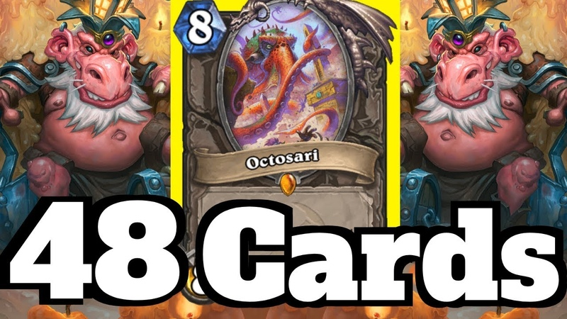 Make the Opponent Draw 48 CARDS!! Octosari Mill Rogue OTK! | Hearthstone