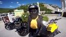 На мотоцикле по ЮБК Ялта, ШТОРМ Накрыло волной