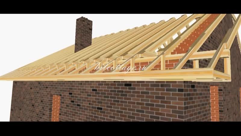Строительство крыши - Проект « Дача »