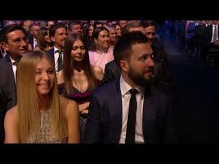 Kenan thompson kicks off nhl awards with jenna fischer, john krasinski | june 19, 2019