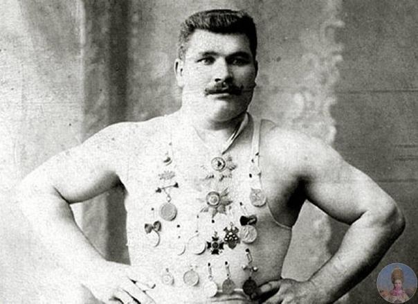 Иван Поддубный пауэрлифтер начала XX века