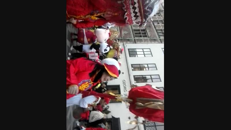 Chinese new year on central street copenhagen friday 15 fevrier 2019