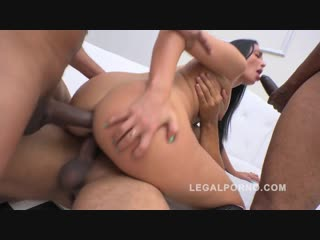 Sasha panther 3on1 gangland style interracial double anal (dap) [2015, gonzo,