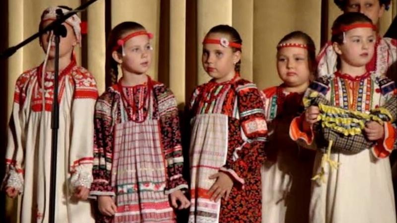 Отчетный концерт фольклорного ансамбля Калинка Севастополь 8 05 2016
