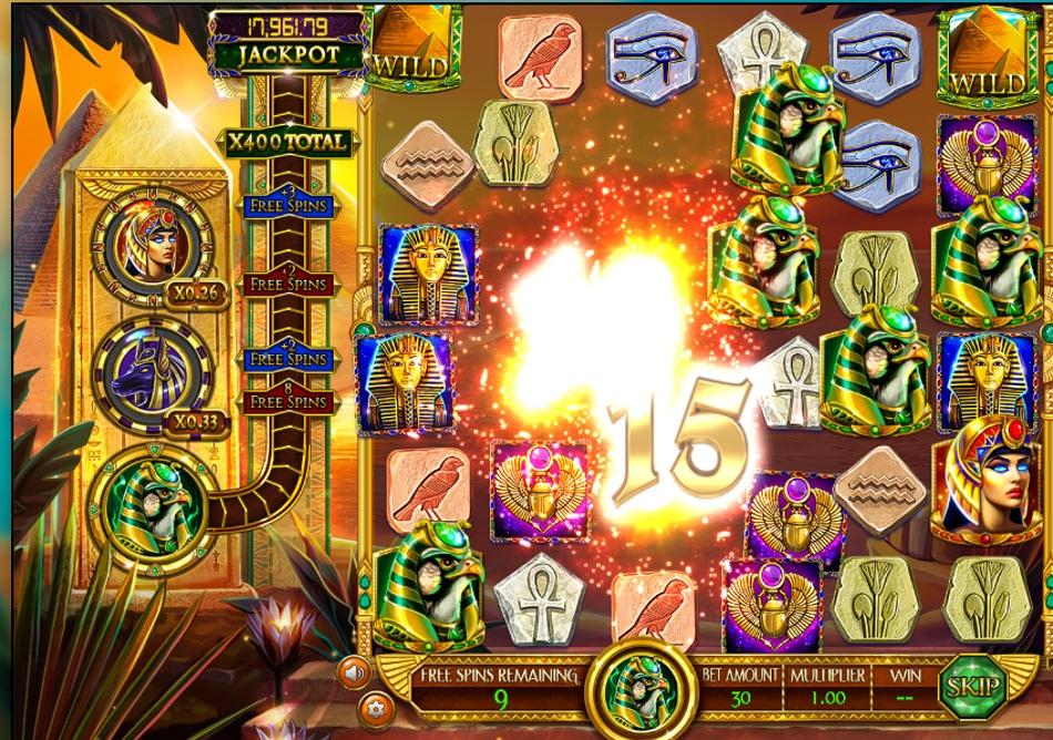 Слот Legends of the Nile в онлайн казиноВулкан Максимум