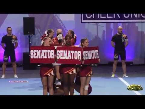 ECU European Cheerleading Championships 2019. Team Senator(Russia)