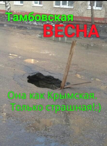 Замутим реальный флешмоб о проблемах области #тамбовскаявесна?