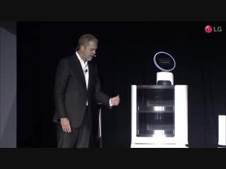 LG at CES 2018 - Press Conference, LG's AI Robot lg at ces 2018 - press conference, lg's ai robot