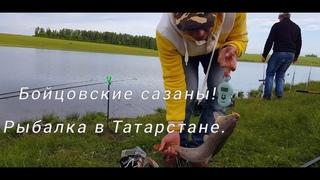 """Бойцовские сазаны, """"прекрасная"""" погода и итоги. Сазанья рыбалка в Татарстане. Второй и третий день."""