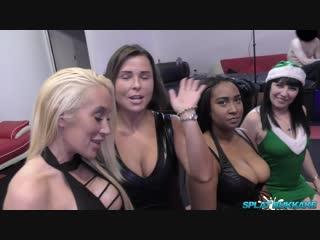 [SplatBukkake.com] Xmas bukkake party with Dink Lu and Lexi Ryder [Blowjob, British, Bukkake, Cumshot, Facial, Oral, Sex]