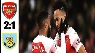 Arsenal vs Burnley 2 1 All Goals & Highlights 17 08 2019 HD
