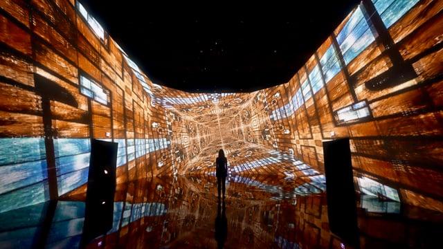 Infinite Space Machine Memoirs Teaser Artechouse
