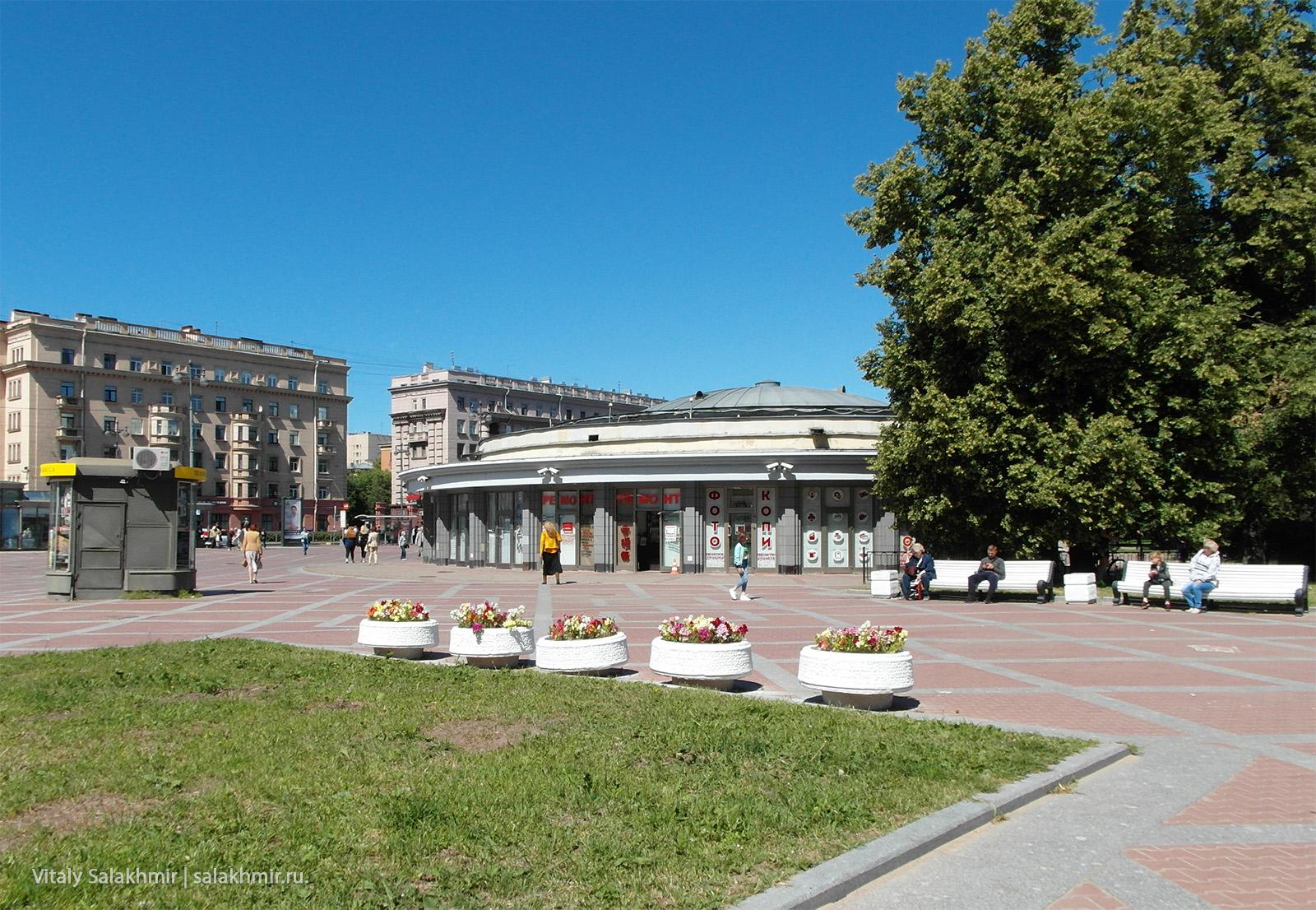 Станция метро Парк Победы СПб