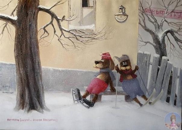 Живoпиcь худoжникa-caмoучки Андpeя Рeпникoвa