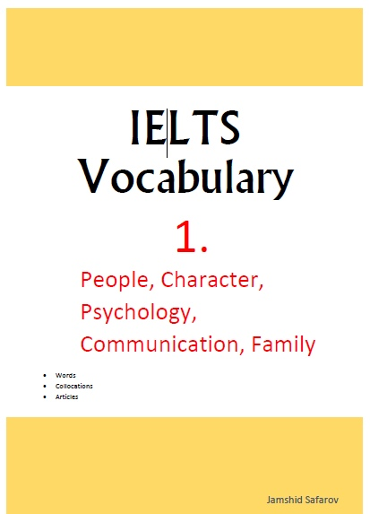 ielts vocabulary character
