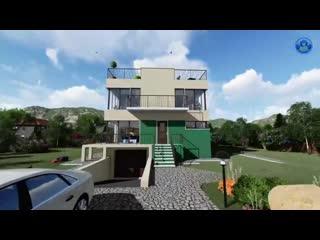 3D визуализация с прогулкой по дому мечты, в новом формате