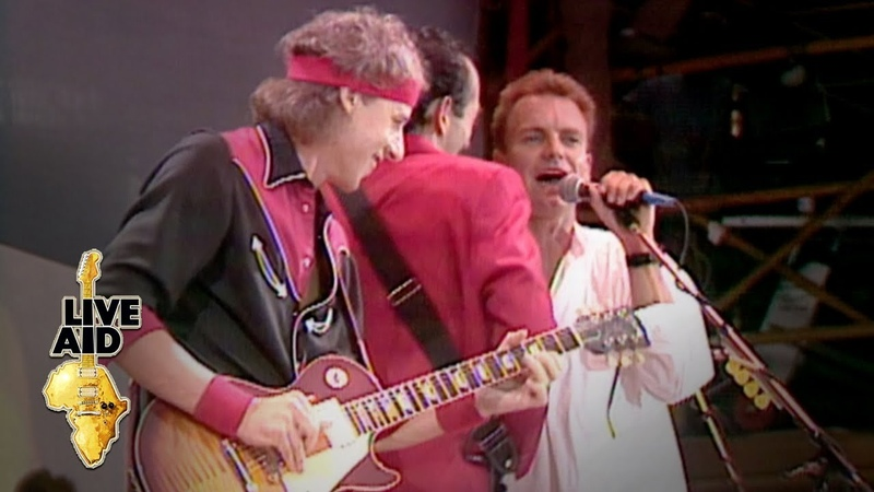 Dire Straits / Sting - Money For Nothing (Live Aid 1985)