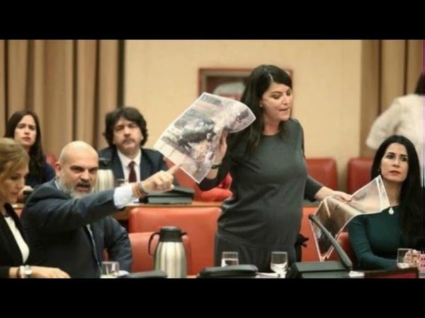 Diputación Permanente el mensaje de Macarena Olona que Batet ha impedido escuchar