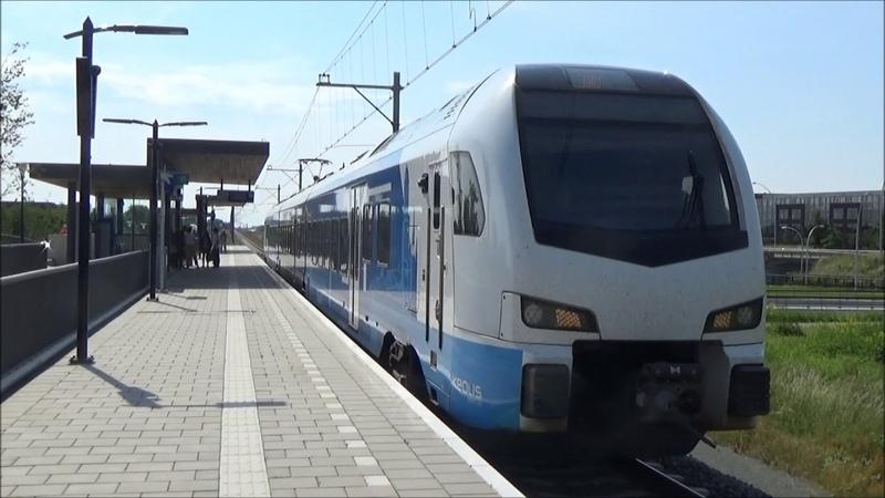 Treinen in Zwolle Stadshagen