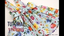 Patrones falda para niñas con tirantes patrones gratis hasta talla 8 años