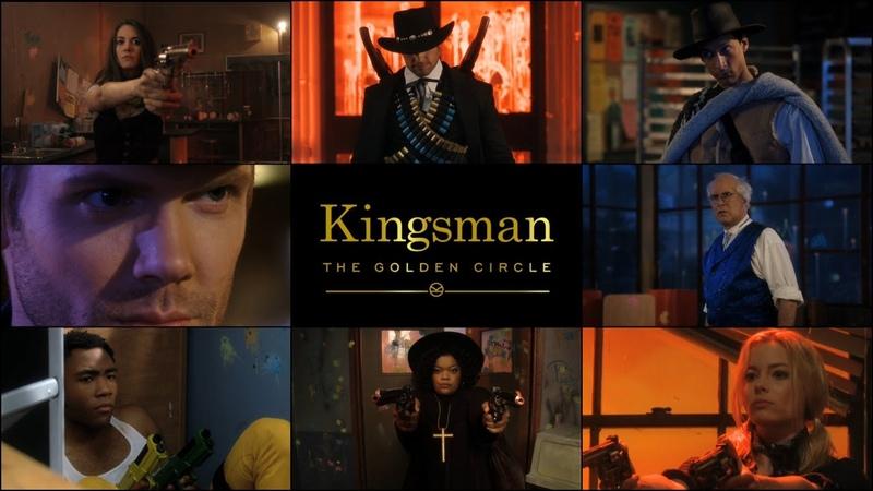 Community Season 2 Finale Fan Trailer (Kingsman: The Golden Circle Style)