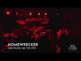 HOMEWRECKER - Live At Saint Vitus Bar 2019