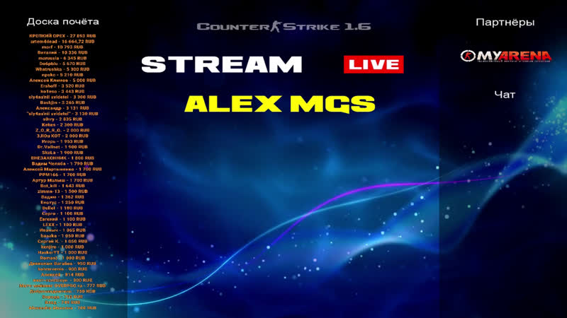 Counter-Strike 1.6 🔴 5×5 Nitro -VS- csavi. Полуфинал Лиги MGSL!