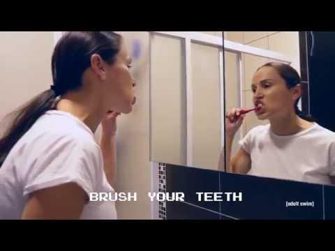 "Important Songs ""Brush Your Teeth"" | adult swim smalls"