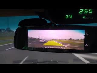 Обзор на зеркало видеорегистратор Fujicar FC8