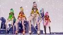 MMD Conqueror 11Models Vocaloid IA Miku Haku Luka Rin Neru Teto Gumi