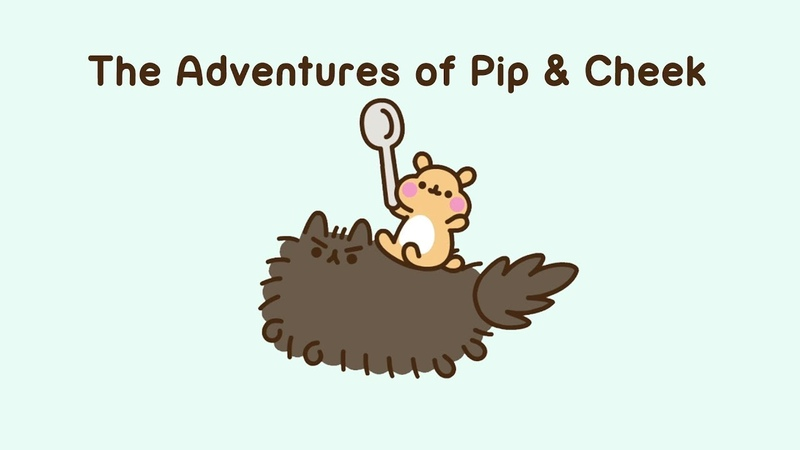 Pusheen: The Adventures of Pip Cheek