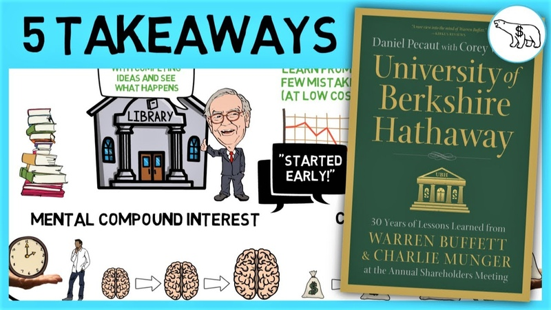 THE UNIVERSITY OF BERKSHIRE HATHAWAY (BUFFETT MUNGER ADVICE)