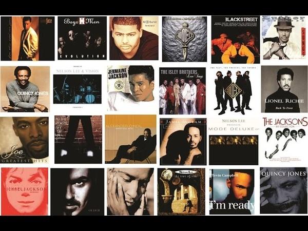 RB/Soul 90's, 80's Slow Jams (Part 1) Feat. Babyface, Nelson Lee, Alexander O'Neal, Boyz II Men...